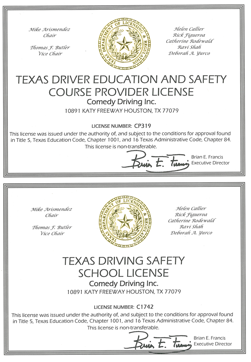 Texas Defensive Driving Tea Approved