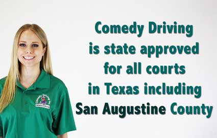San Augustine County Texas Defensive Driving
