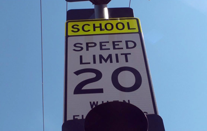 Driving In School Zones