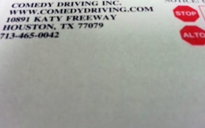 Defensive Driving Paperwork in Houston Texas