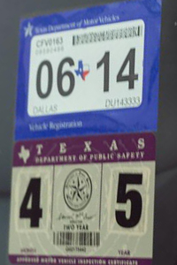 Texas Car Inspection >> Texas Dmv Adopts Single Sticker System