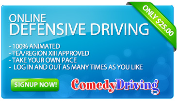 TEA Approved Defensive Driving