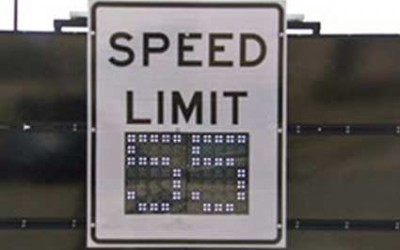 Digital Speed Limit Signs