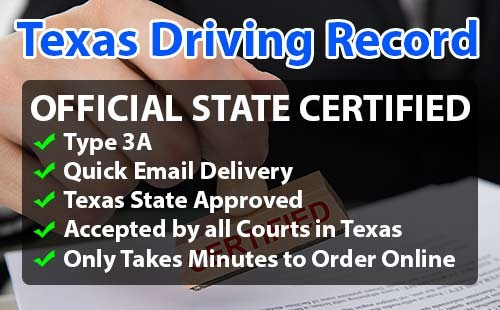 Texas Driving Record