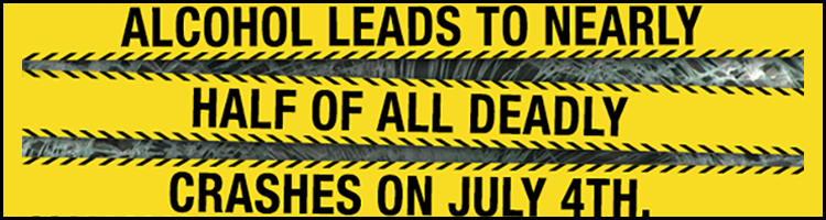 July 4th - Don't Drink and Drive BLOG Header