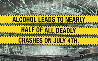 July 4th - Don't Drink and Drive