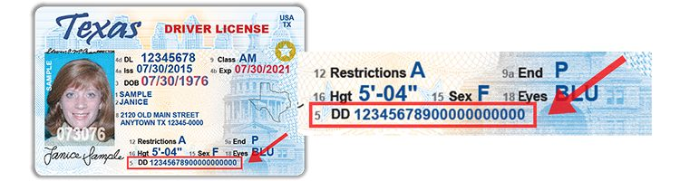 What Is A Texas Driver S License Audit Number